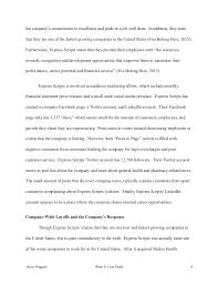 Express Scripts Customer Service Imc 637 Final Project Express Scripts Case Study