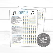 Editable Kids Checklist Daily Task List Customizable Chore