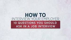 how to talk about weaknesses in a job interview 10 questions you should ask in a job interview