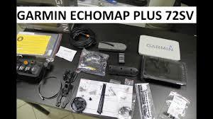 Эхолот <b>картплоттер Garmin Echomap</b> plus 72sv /73sv распаковка ...