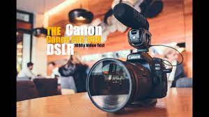 Canon EOS 80D Video Test - YouTube