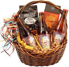 fat tire trio beer gift basket