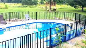 swimming pool fence home depot fencing aluminum wood gates poo canada