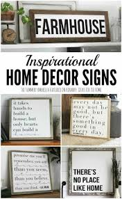 How To Make Home Decor Signs Inspirational Home Decor Signs Rustic and Modern 2