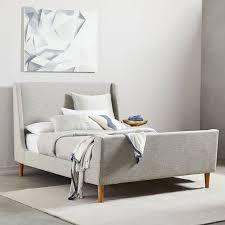 upholstered sleigh beds. Upholstered Sleigh Beds F