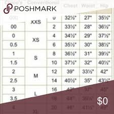 Chicos Size Conversion Chart Chicos Size Conversion Chart