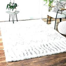 black fuzzy rug large round white area rug fuzzy rugs black and whit