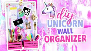unicorn bedroom decor diy unicorn wall organizer cute room decor karenkav on diy room decor easy
