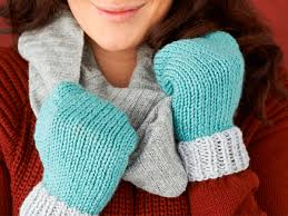 Mittens Pattern Simple Easy Mittens Knitting Pattern Mollie Makes