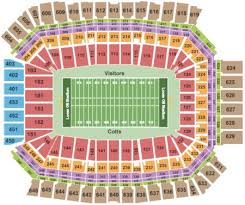 U2 Lucas Oil Seating Chart Lucas Oil Stadium Tickets And Lucas Oil Stadium Seating