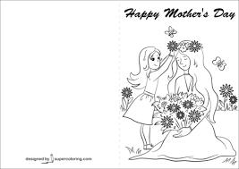 Disegno Di Biglietto Per La Festa Della Mamma Da Colorare Disegni