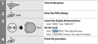 how to set clock on jvc kd g car audio systems how do you set the clock on car stereo jvc kd s14