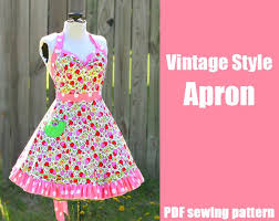 Vintage Apron Patterns Custom DiY Crafts Free Sewing Tutorials Kickass Clothing Patterns