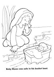 Coloring Pages Moses Coloring Sheets Baby Page Best Of Pages