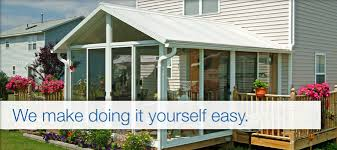 DIY Sunroom Kits Plans For Prefab Sunrooms Great Day Improvements