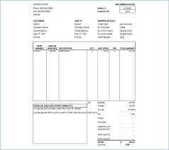 Creating An Invoice Template Adorable Proforma Invoice Format Excel Template Microsoft 48 How To Make In