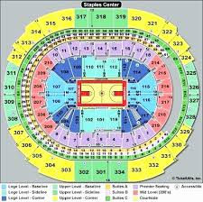 Colorado Avalanche Seating Chart With Seat Numbers 54 Luxury Staples Center Seating Chart Concert Home Furniture