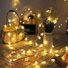 Chỉ 23,850đ Dây đèn LED hình ngôi sao dễ thương dùng trang trí