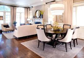 round dining table small space fabulous pendant lamp and round dining table for elegant combination living and dining room ideas with beige curtain and