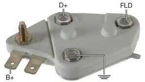 delco type alternator voltage regulators d104hd voltage regulator 24 volt a circuit 27 5 vset for delco 10si 20si 21si 22si 23si 26si 27si 29si 30si 40si series alternators