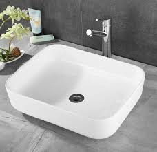 Basin Top Ceramic Wash Bathroom Sink Bowl Gloss Above Counter  Vanity Sink Bowls On Top Of Vanity26