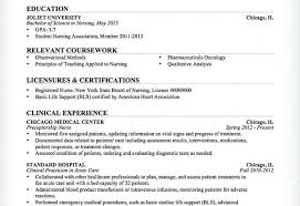 Entry Level Nursing Resume X Nurse Free Template