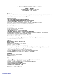 Samples Of Cna Resumes Awesome Job Resume Cna Resume Templates