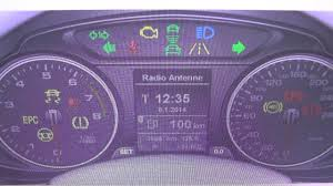 Epc And Engine Light Audi Audi Q5 Engine Epc Dash Warning Light Symbol How To Remove