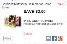 Garnier nutrisse hair color black friday garnier nutrisse nourishing color creme with fruit oil concentrate, permanent, dark reddish brown 452 (pack of 3) deals garnier nutrisse nourishing color creme with fruit oil concentrates: New 2 Garnier Coupon Hair Color For 4 99 At Kroger Kroger Krazy