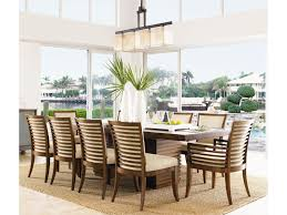 Tommy Bahama Kitchen Table Tommy Bahama Home Ocean Club Double Pedestal Peninsula Dining