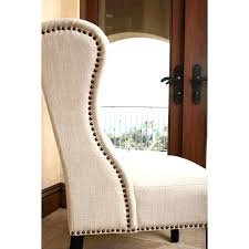 tufted wingback dining chair living tufted linen dining chair in cream grey tufted wingback dining chair