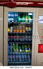Junk Food Vending Machines Fascinating Paris France Soft Drink Junk Food Vending Machines Stock Photo