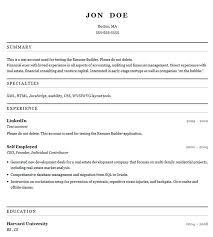 Proper Resume Format | Resume Format And Resume Maker