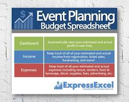 Party Planner Spreadsheet Party Planning Excel Spreadsheet Template Food Beverage Etsy