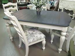 chalk paint kitchen table painted kitchen table ideas i love graphite and washed white dining tables