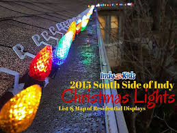 Best Neighborhood Christmas Lights Indianapolis Where To See Christmas Lights On The South Side Of Indy