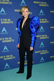 Cate Blanchett attends the 'Where'd You Go, Bernadette' New York ...