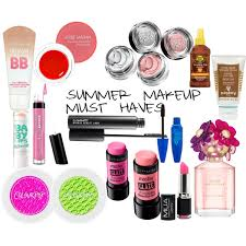 summer makeup must haves 2016 polyvore
