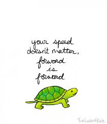 Turtle Quotes Illustrator Draws Cute Animals With Motivational Messages for People 2