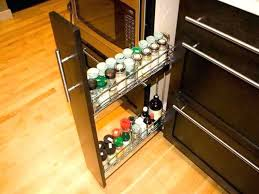 diy pull out shelves spice rack pull out pull out spice rack kitchen storage pull out
