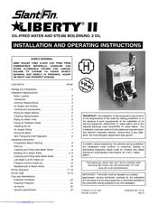 slant fin victory ii vhs series manuals