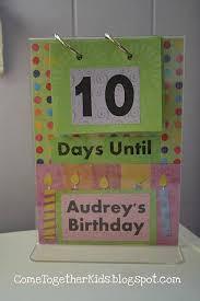 Birthday Countdown Flip Chart Birthday Countdown Birthday