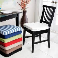 striped chair cushions tie cushions for dining room chairs round