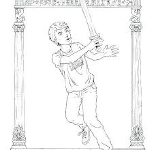 percy jackson coloring pages coloring book pages percy jackson lightning coloring pages