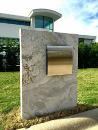 modern mailbox ideas. Contemporary Mailbox Post Ideas Minimalist Design Modern D