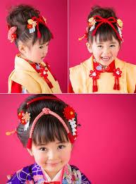 楽天市場あす楽七五三2015三歳用八重菊パッチン両飾り