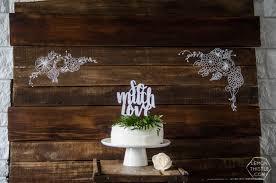 diy fl rustic backdrop for a wedding