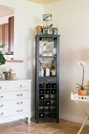 room home barcorner bar cabinet furntiure kathleen barnes orange county home tour theeverygirl middot small corn