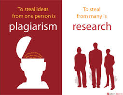 Image result for to steal ideas from one person is plagiarism