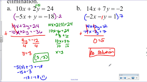 5 4 solve systems of equations with elimination multiplication required